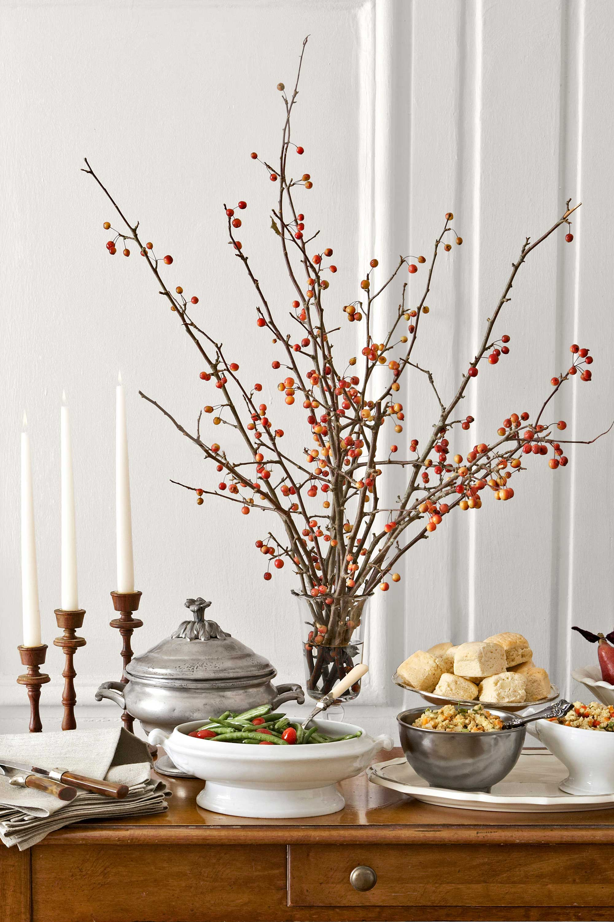 Elegant 40 Easy DIY Thanksgiving Decorations   Best Ideas For Thanksgiving  Decorating Pictures