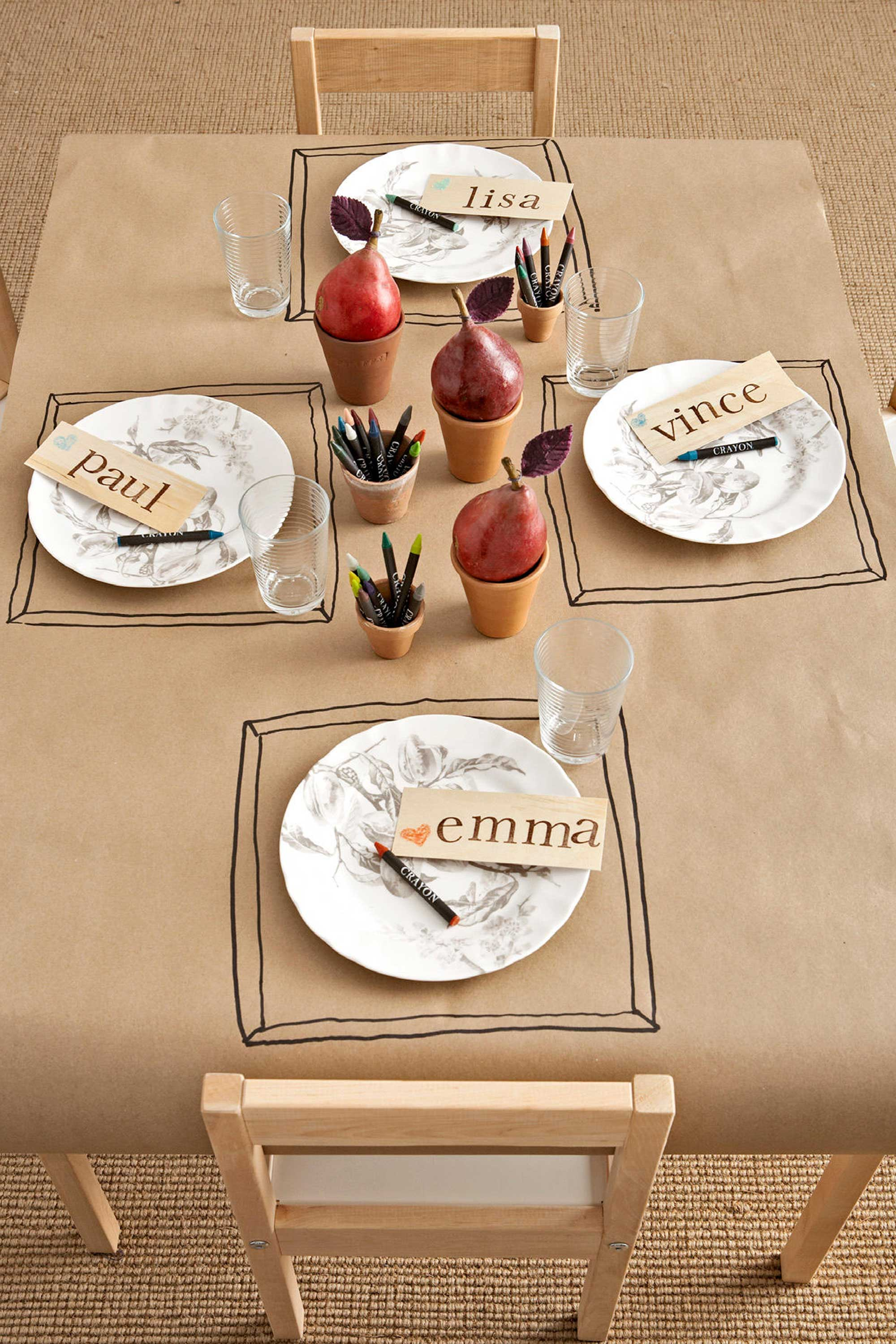 40 thanksgiving table settings thanksgiving tablescapes decoration ideas - Thanksgiving Table Setting Ideas Easy