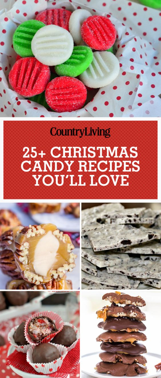 45 Easy Christmas Candy Recipes Ideas For Homemade