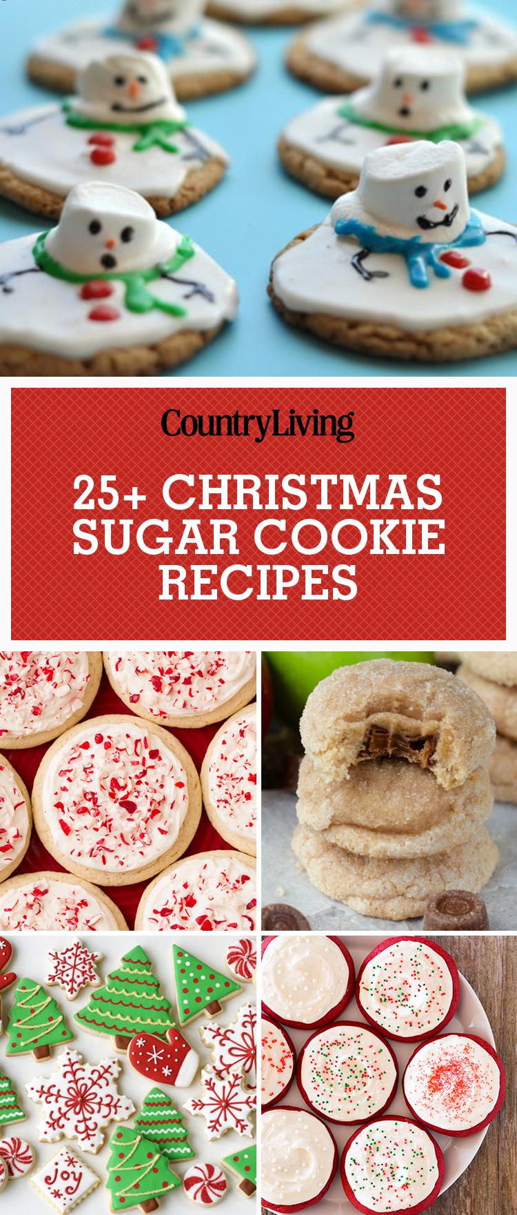 25 Easy Christmas Sugar Cookies Recipes Amp Decorating