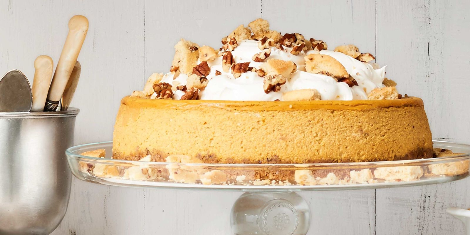 Best Pumpkin Cheesecake With Cookie Crust Recipe How To