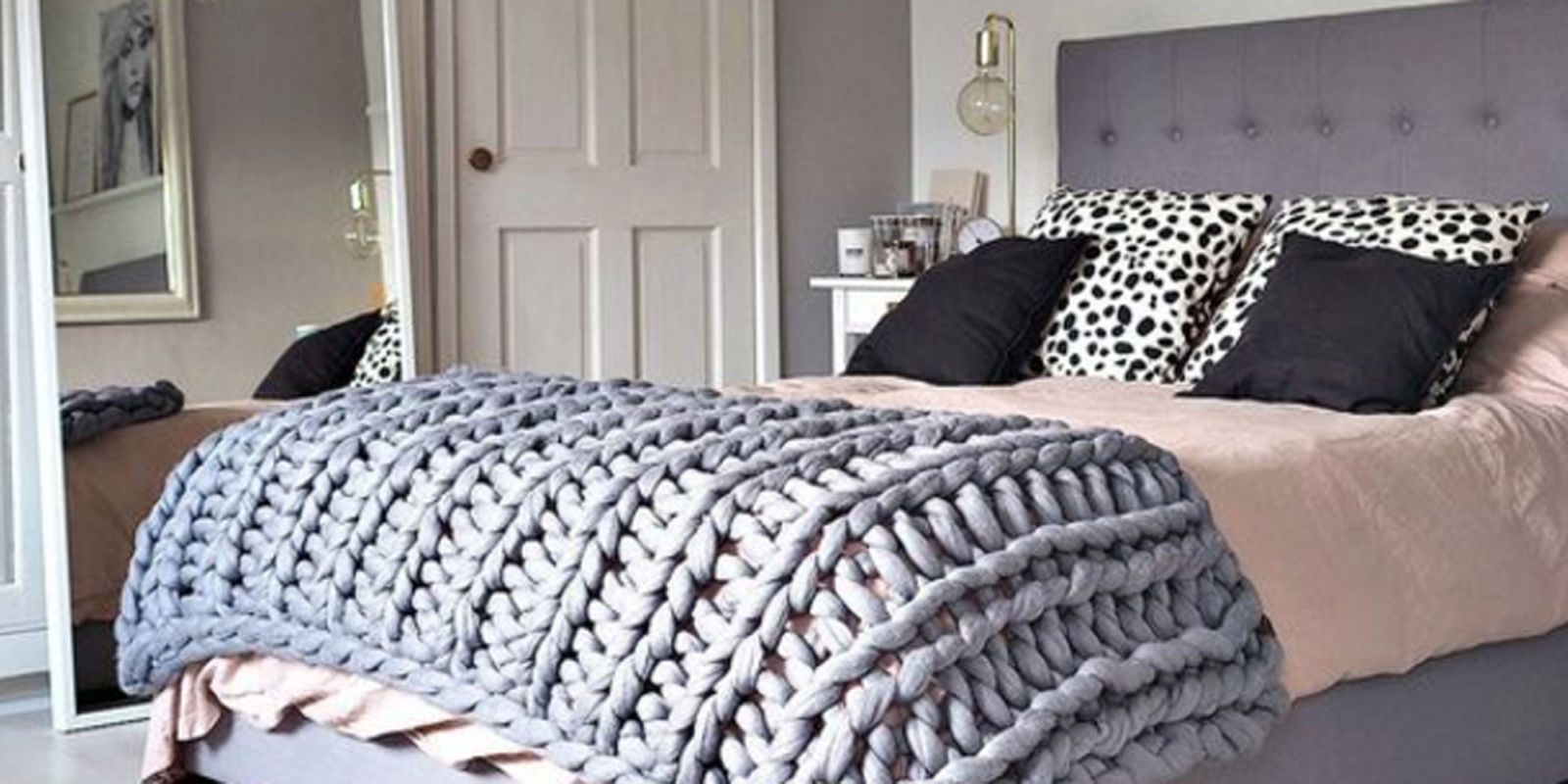 You can make this large and cozy knit blanket in less than for How to make a big chunky knit blanket