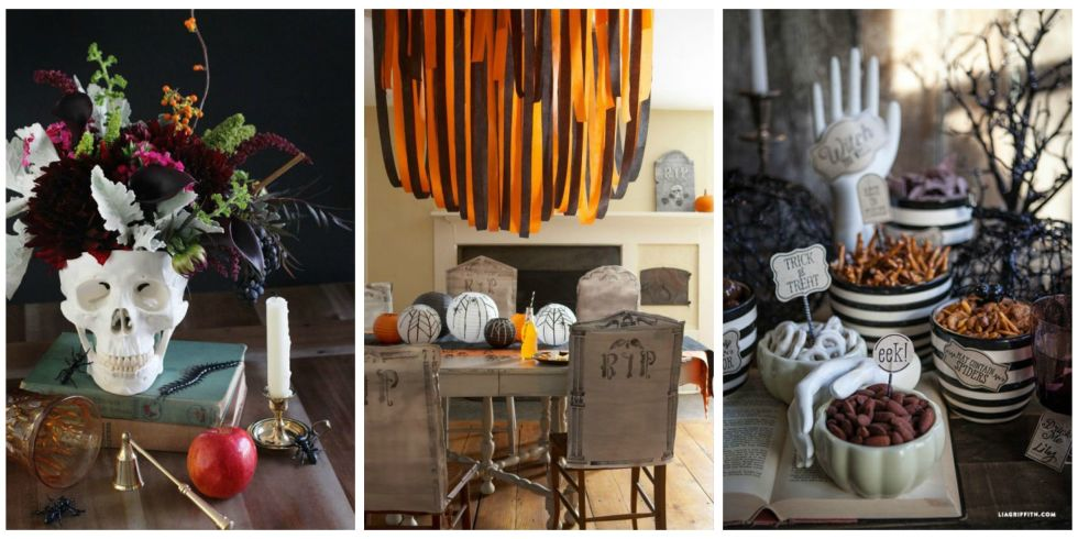 15 photos - Halloween Table Centerpieces