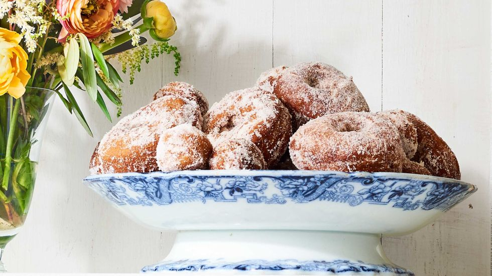 These yummy apple cider doughnuts taste just like they're fresh from the cider mill. Getthe recipe.