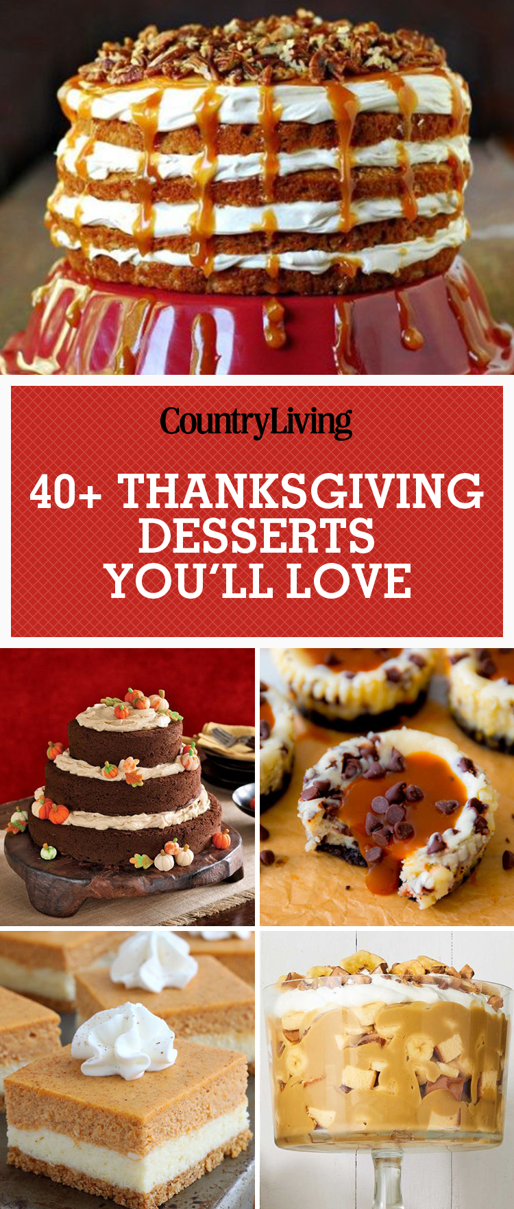 40 Easy Thanksgiving Desserts