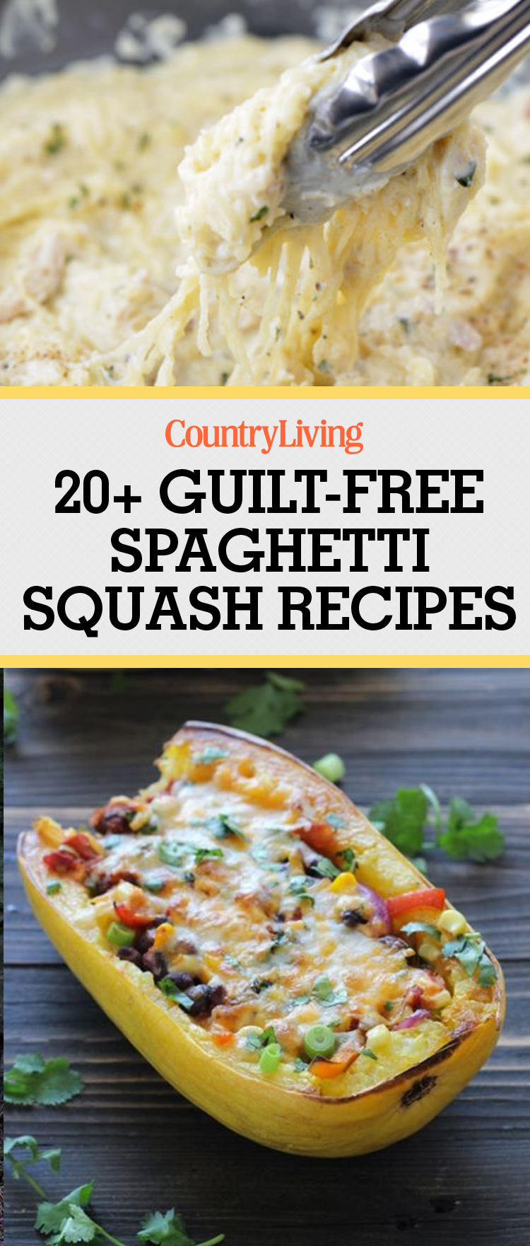 spaghetti squash recipes healthy eating easy dinner pasta food cheap countryliving vegetable living meals recipe country spagetti clean pros cons