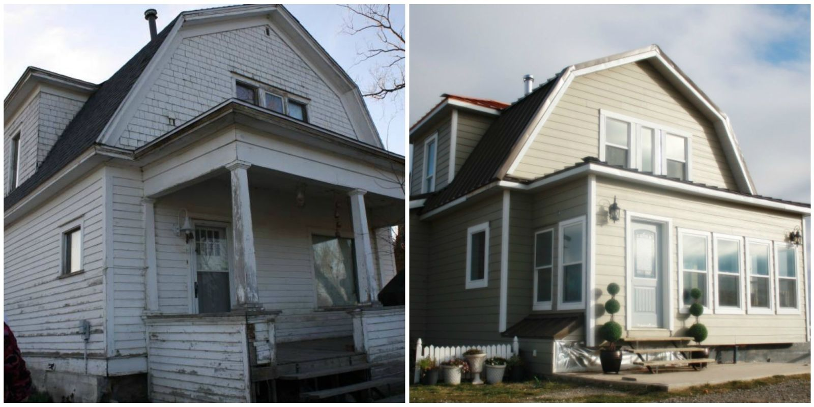 Family received 100 year old farmhouse for free and then for Remodeling old homes