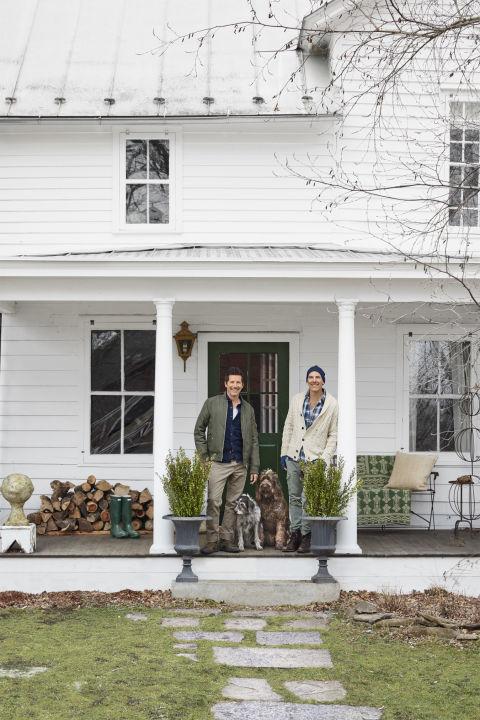 German House Designs: New York Farmhouse Decorating