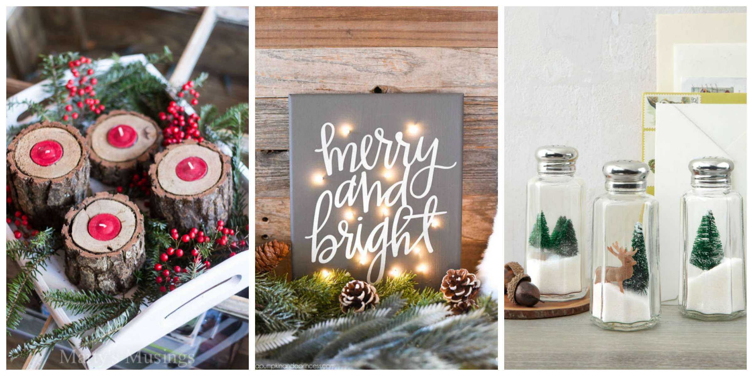 35 DIY Homemade Christmas Decorations - Christmas Decor ...