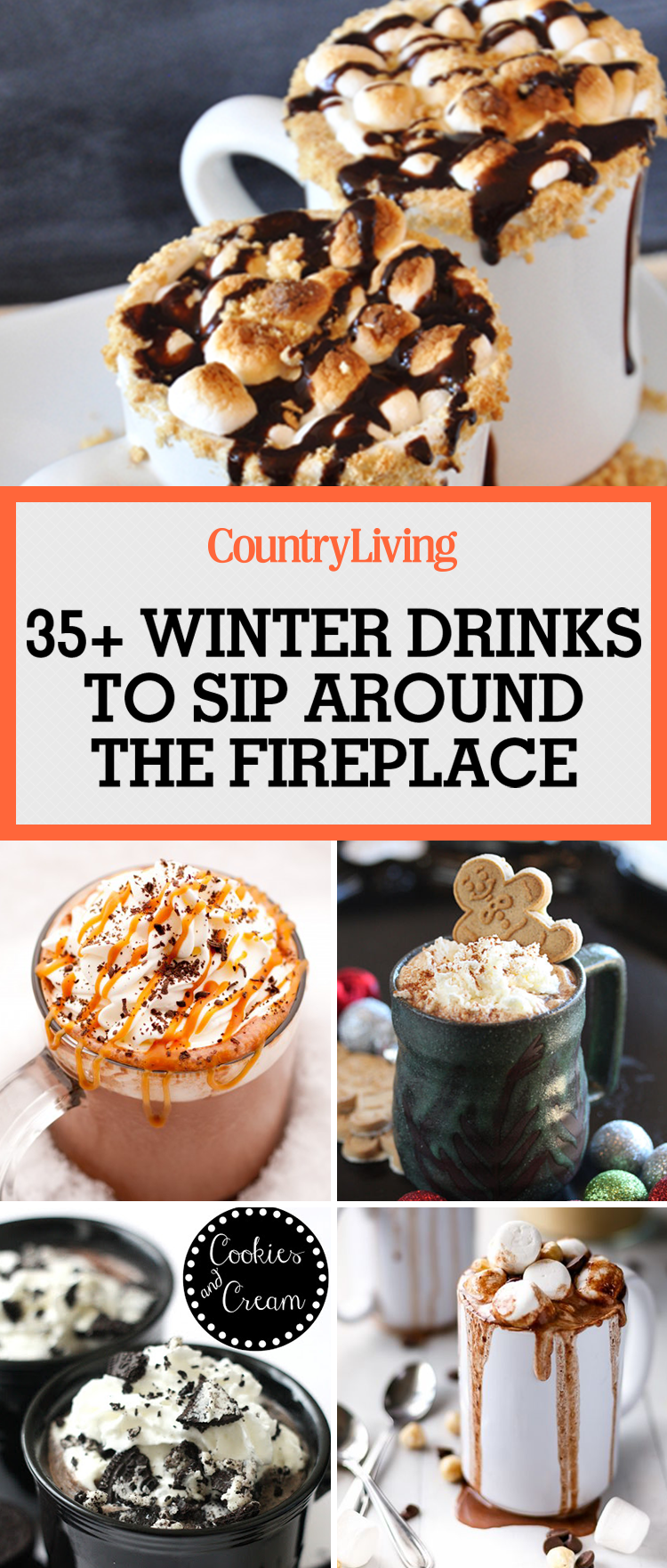 35 hot winter drinks   easy recipes for warm holiday drinks