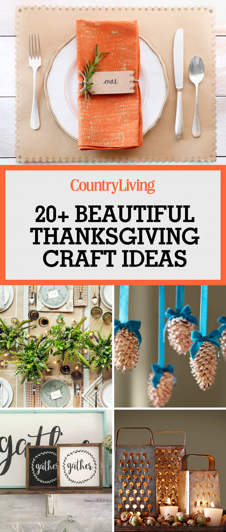 20 easy thanksgiving crafts fun diy ideas for thanksgiving for Thanksgiving day craft ideas