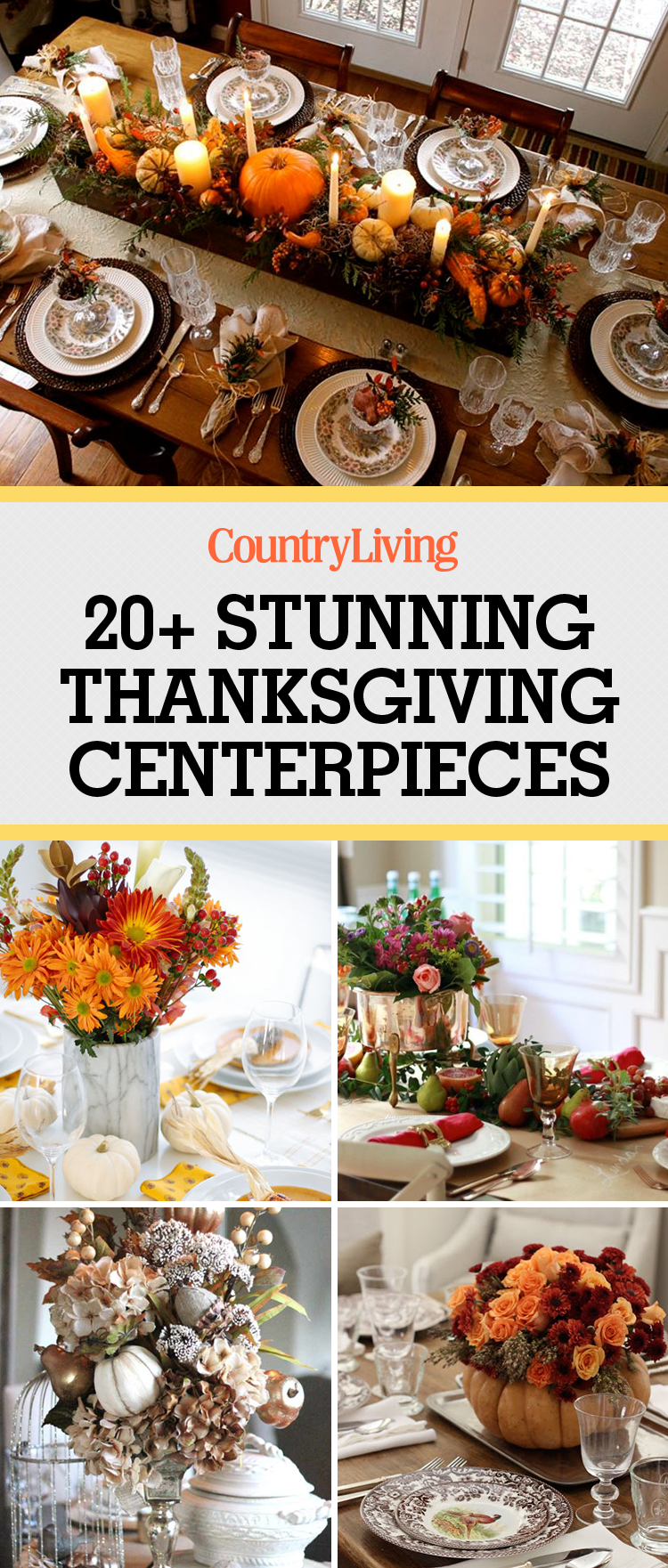 Thanksgiving Table Decorations 29 diy thanksgiving centerpieces – thanksgiving table decor