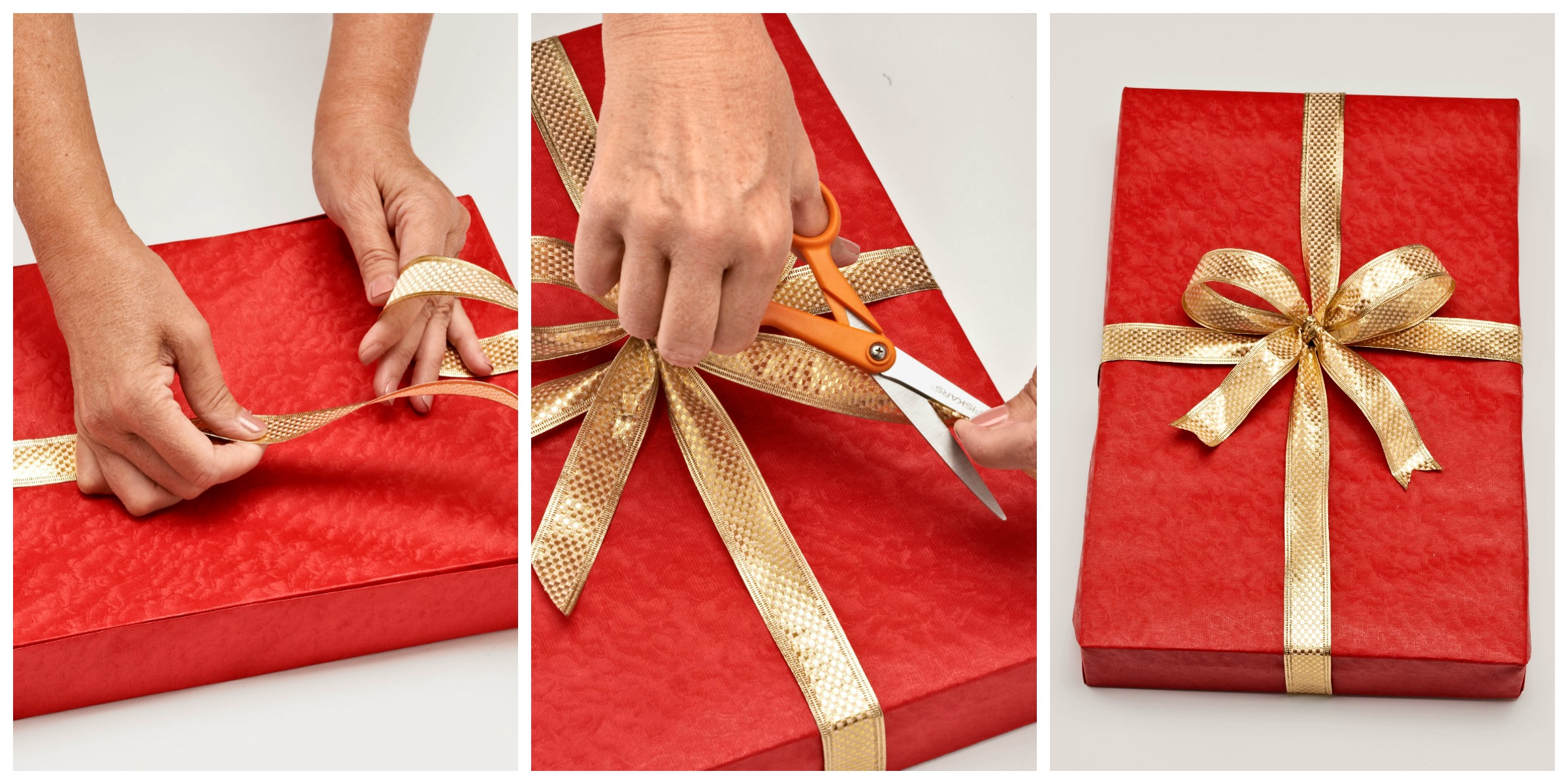 How to wrap a gift wrapping a present step by step for How to wrap presents with wrapping paper