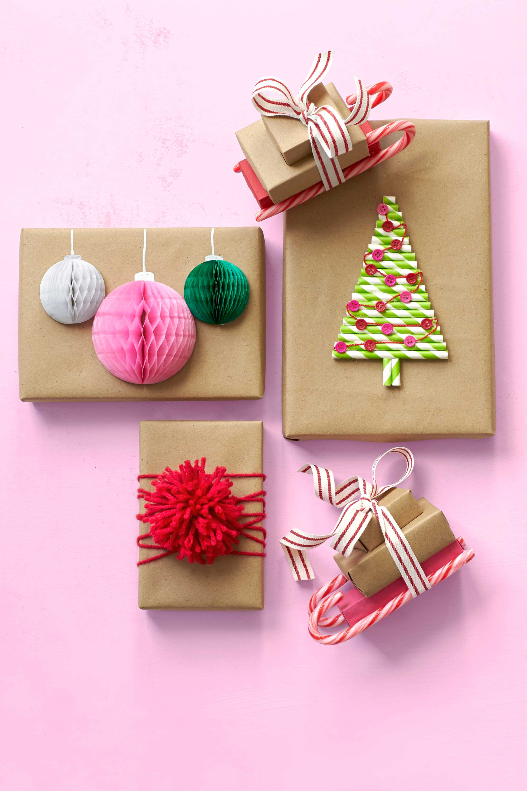 30 unique gift wrapping ideas for christmas how to wrap for Easy crafts for christmas presents