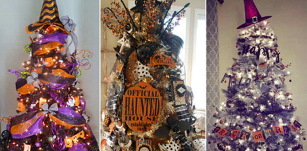 Halloween Christmas Trees - Why Are Halloween Christmas Trees a Thing