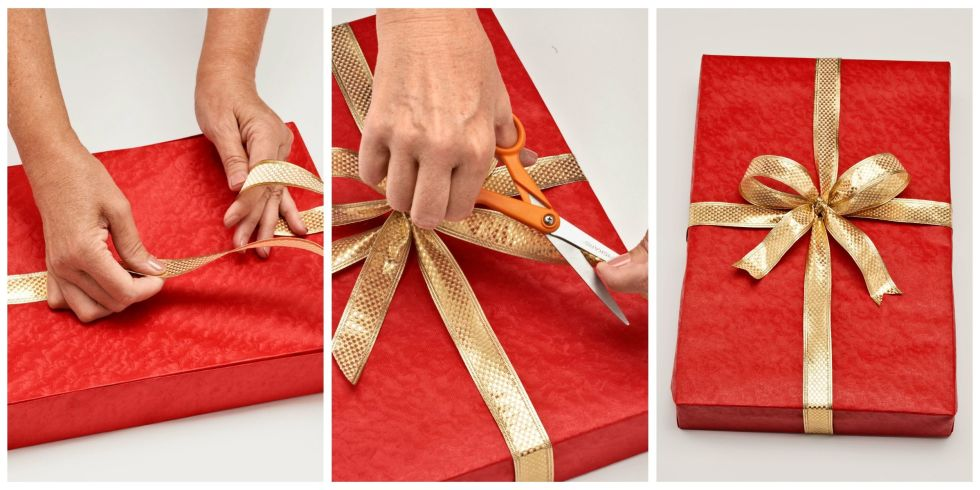How to Wrap a Gift - Wrapping a Present Step by Step Instructions ...