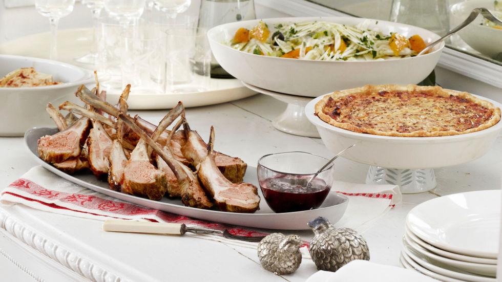 5 Easy Christmas Dinner Menu Ideas - Complete Christmas Dinner ...