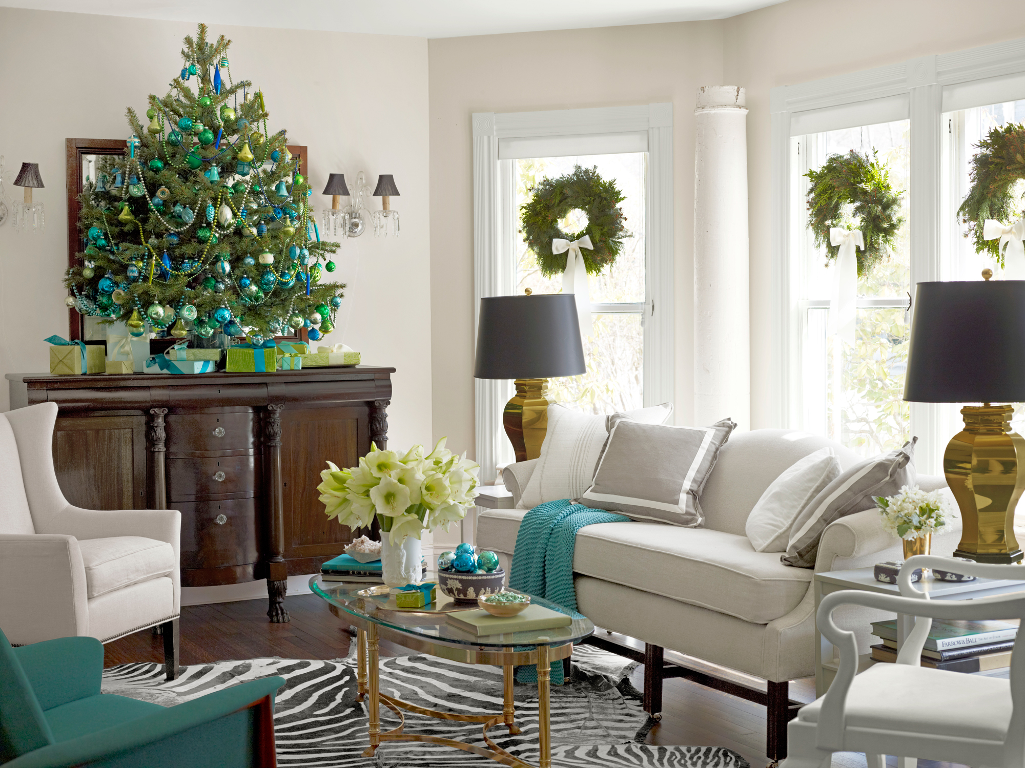 Christmas Tree Living Room 15 best small christmas trees - ideas for decorating mini