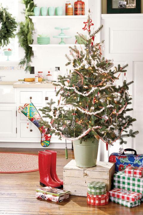cooking inspired mini christmas tree - Mini Christmas Tree