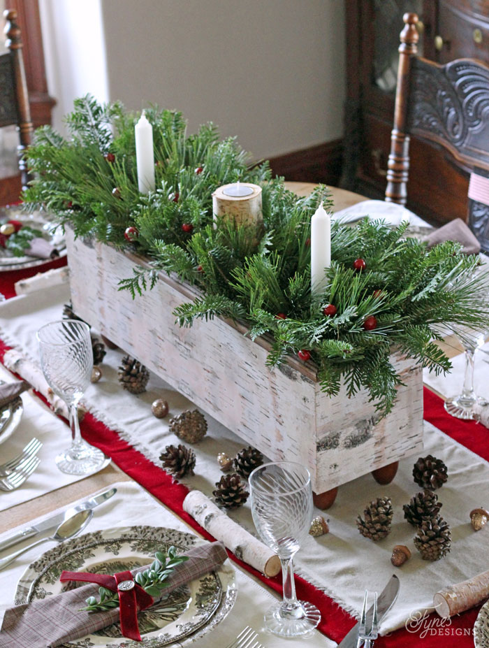 47 Best Christmas Table Settings - Decorations and Centerpiece ...