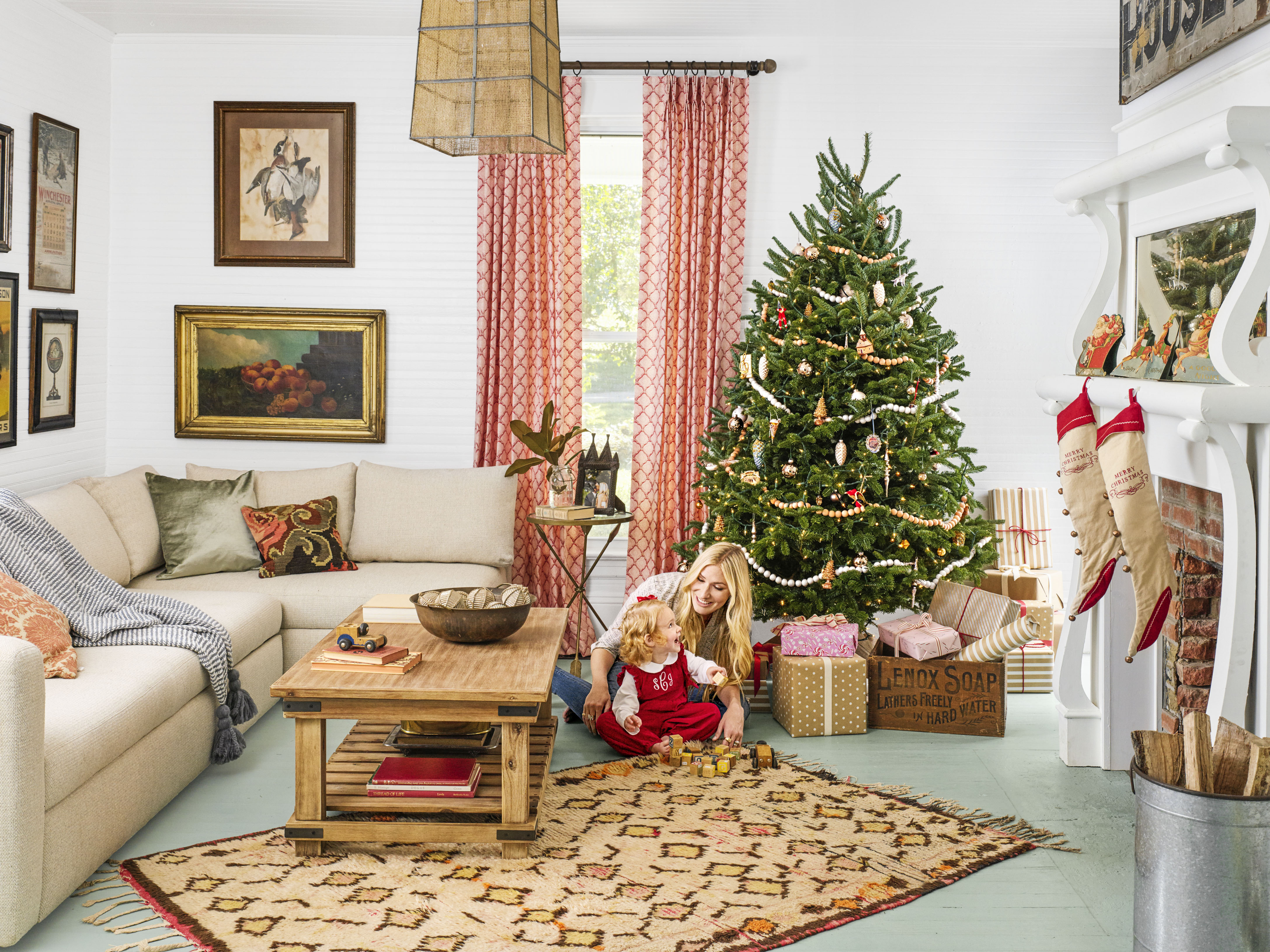 100 Country Christmas Decorations