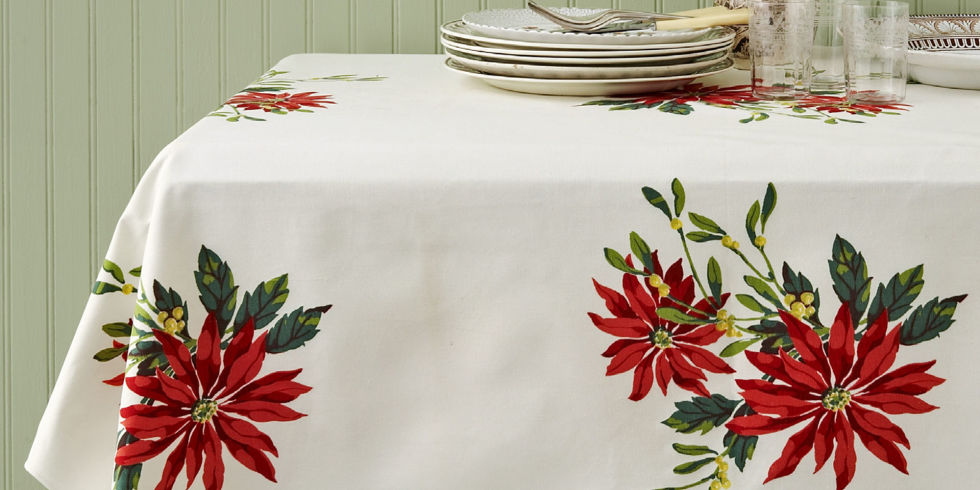 Vintage Christmas Tablecloths and Linens - Collecting Vintage ...