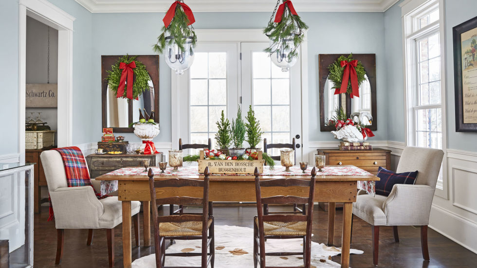 Living Room Christmas Decorating Ideas 45 best christmas table settings - decorations and centerpiece
