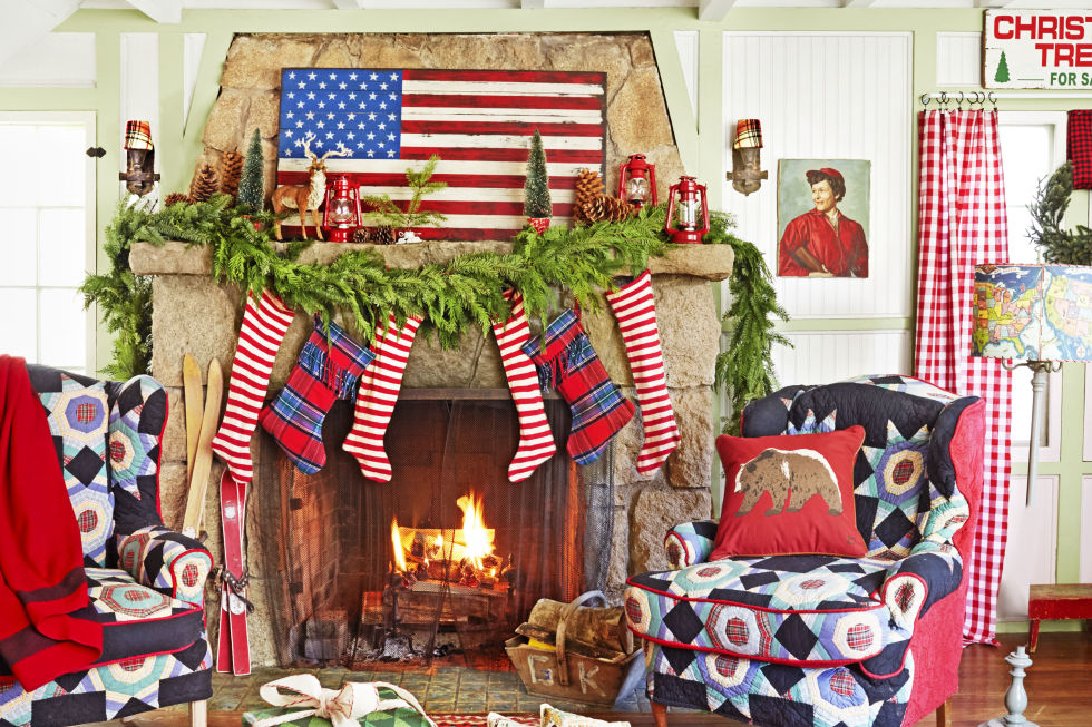 33 Christmas Mantel Decorations Ideas for Holiday Fireplace – Decorate Fireplace Mantel for Christmas