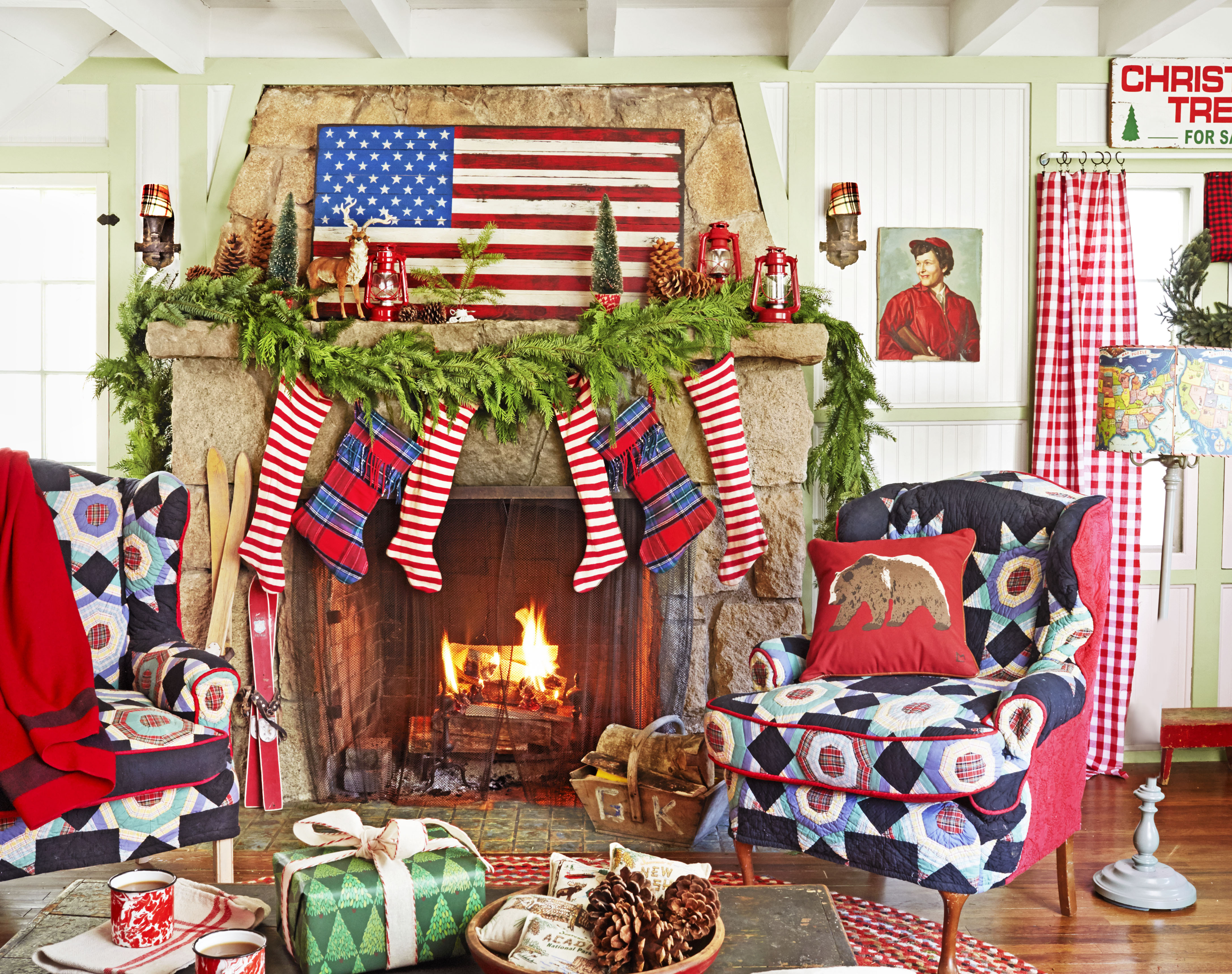 35 Christmas Mantel Decorations Ideas For Holiday