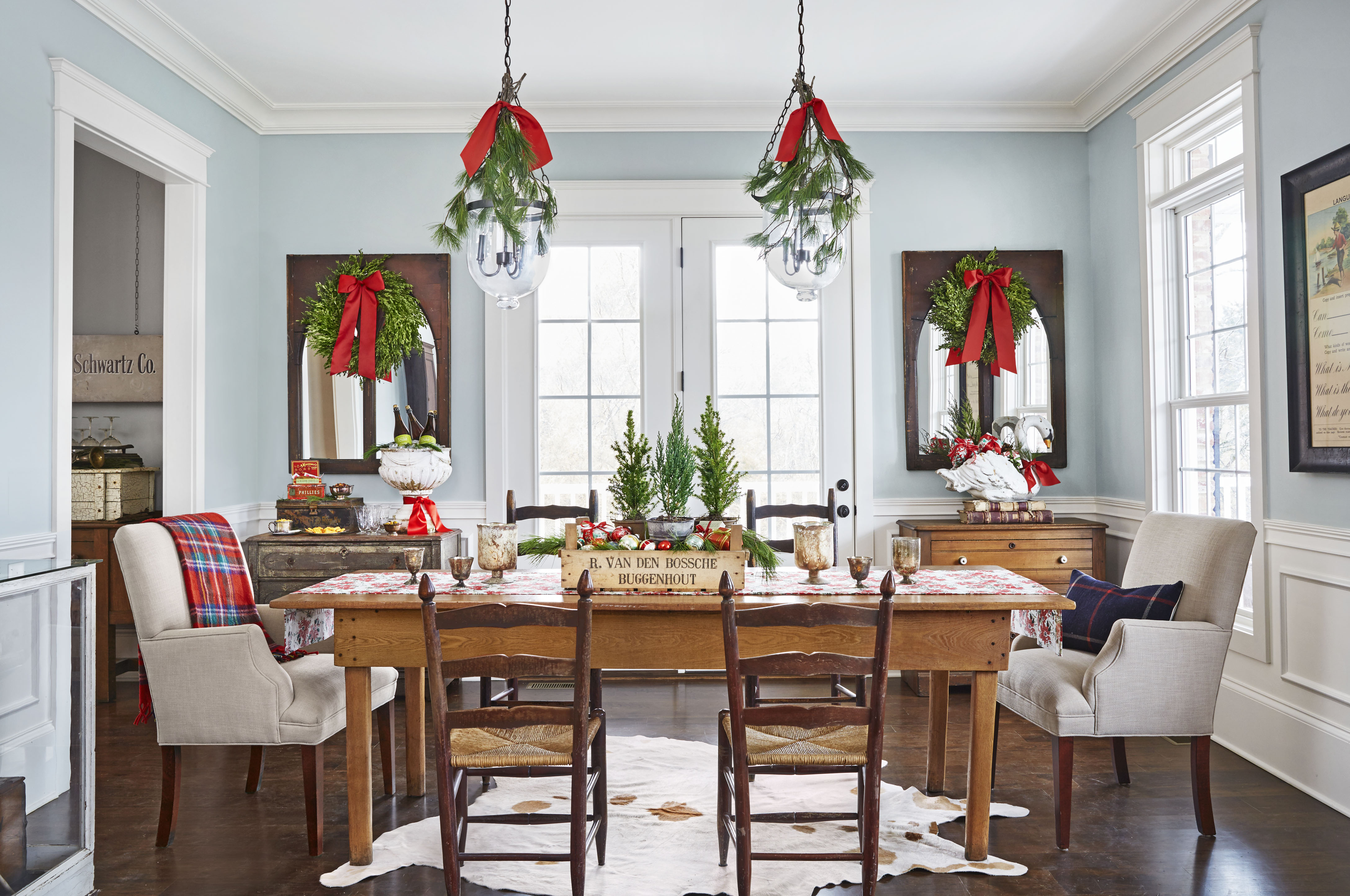 Decorating Dining Room Ideas 47 Best Christmas Table Settings  Decorations And Centerpiece