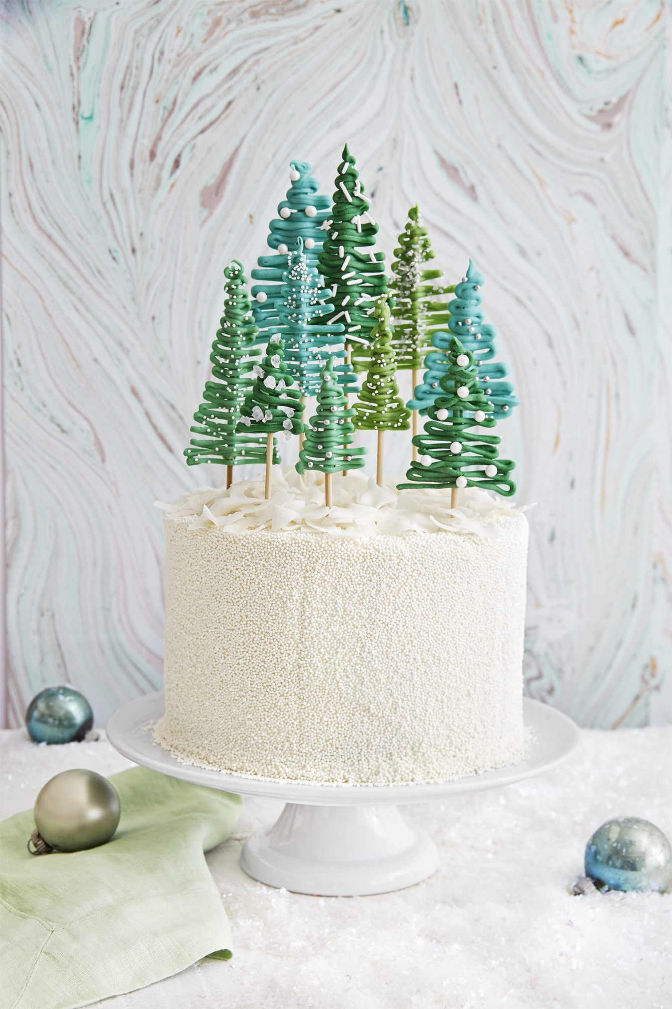 Best Pine Tree Cake Recipe How To Make Christmas Tree