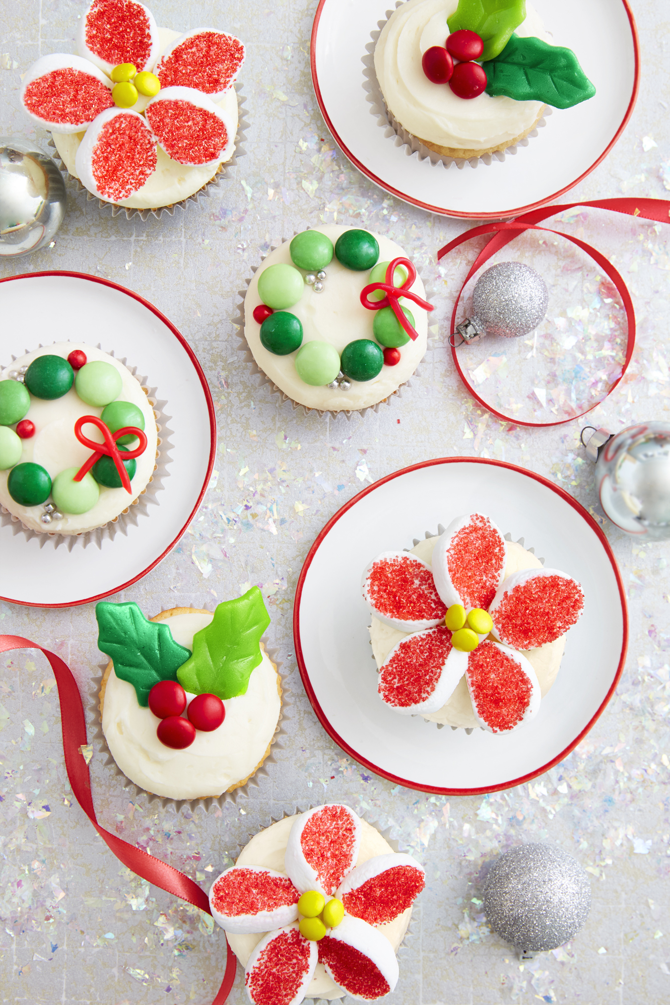 Holiday Candy Cupcakes Recipe How To Make Christmas