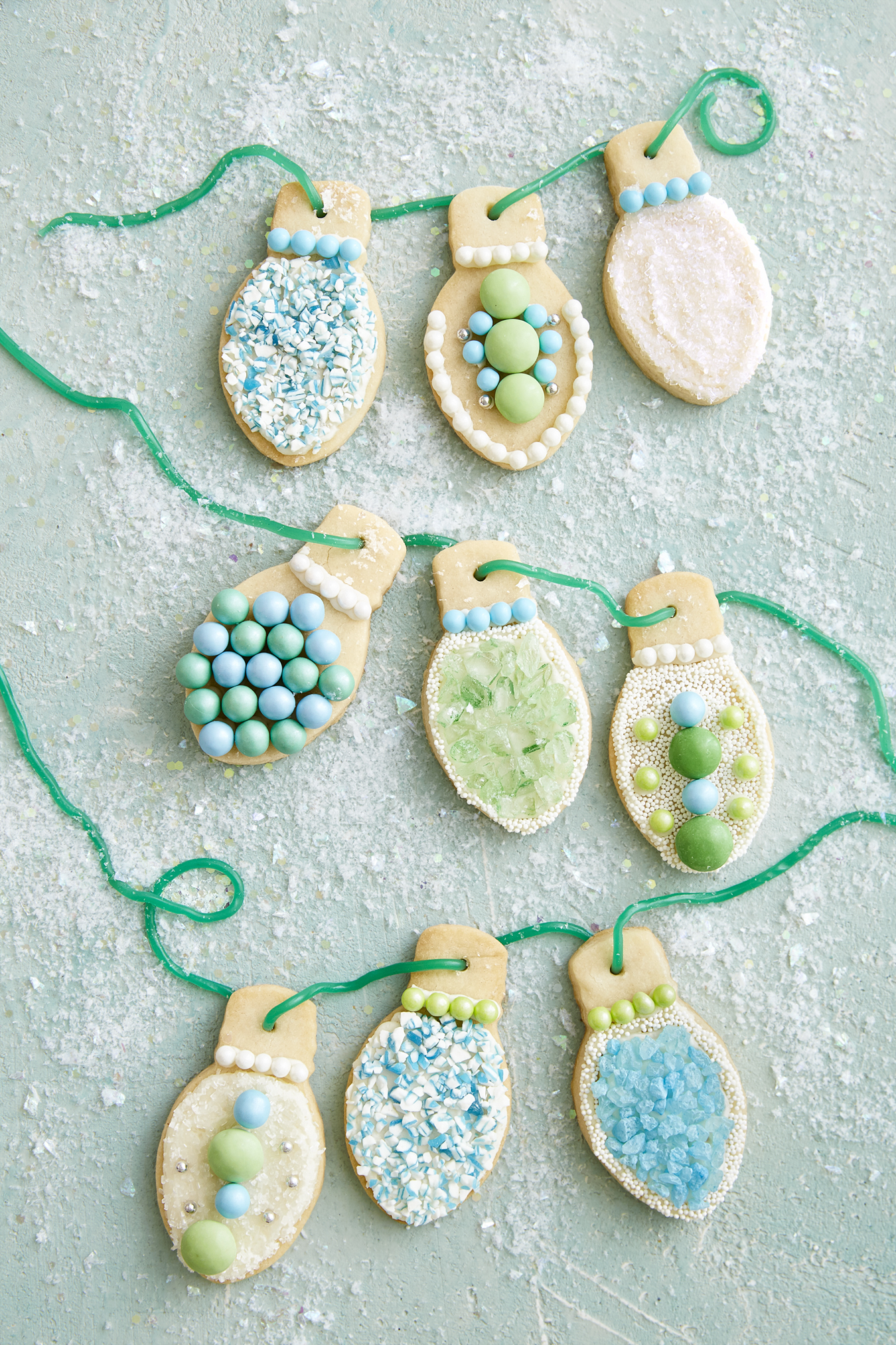 Best Christmas Light Sugar Cookies Recipe - How To Make Christmas ...