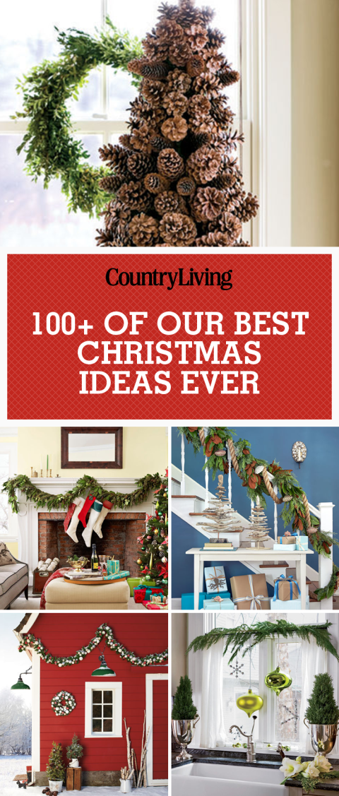 Christmas Decor Pics 100 country christmas decorations - holiday decorating ideas 2017