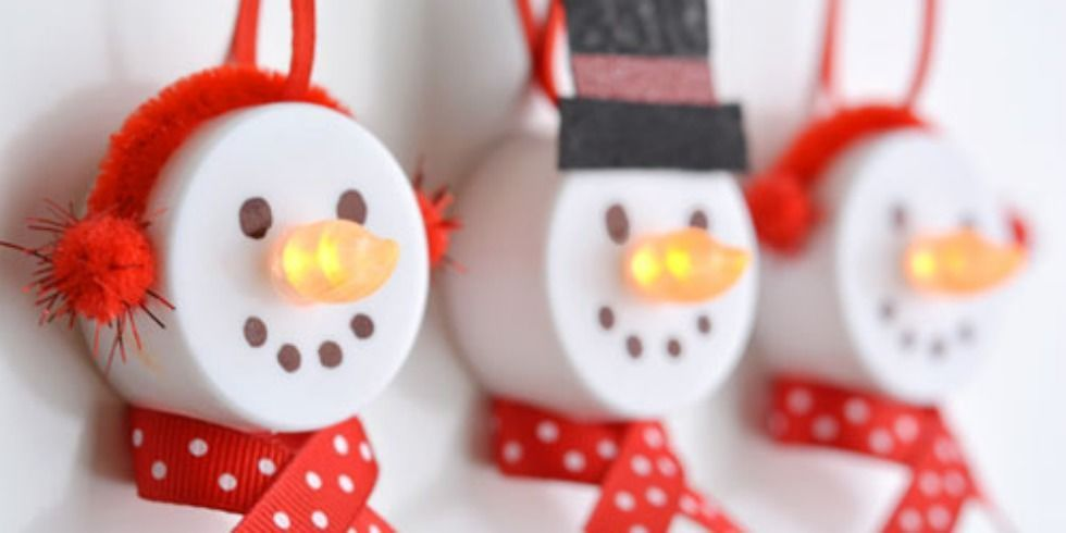 dollar store centerpiece ideas tea light snowmen tea light ornaments