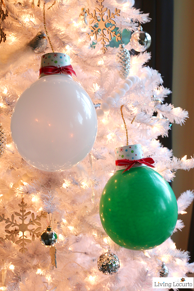 These Giant Balloon Ornaments Will Light-Up Your Christmas