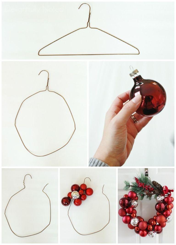 vánoční věnec výroba