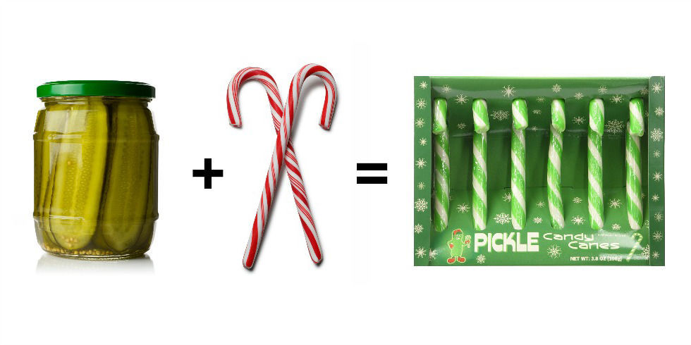 Pickle Candy Canes Weird Cane Flavors