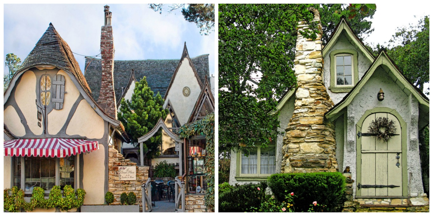 Fairytale christmas in carmel california fairy houses of for Carmel house