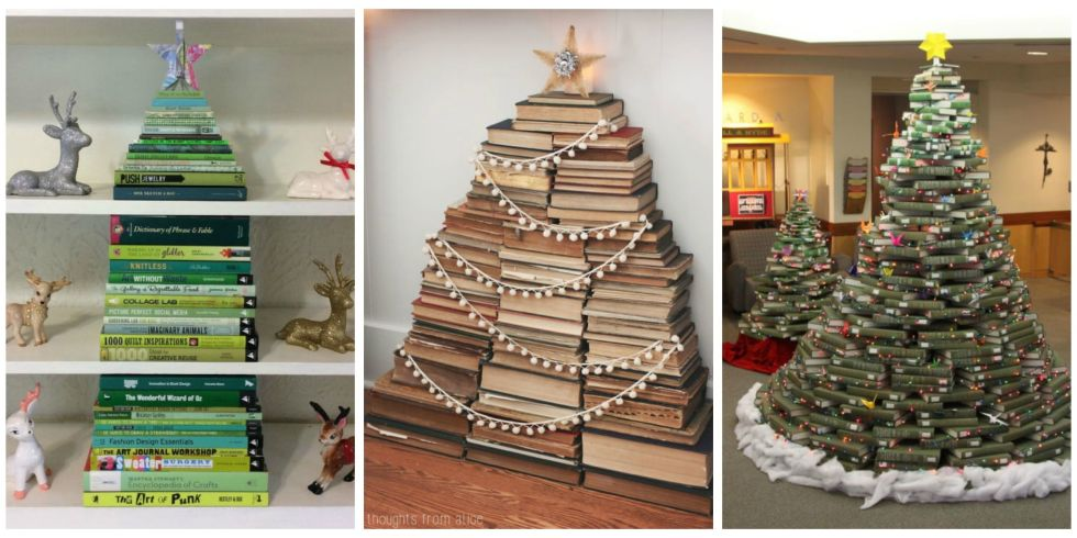 what a novel idea - Make A Christmas Tree