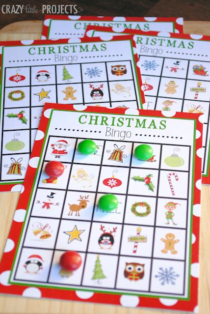 christmas bingo - Kids Free Holiday