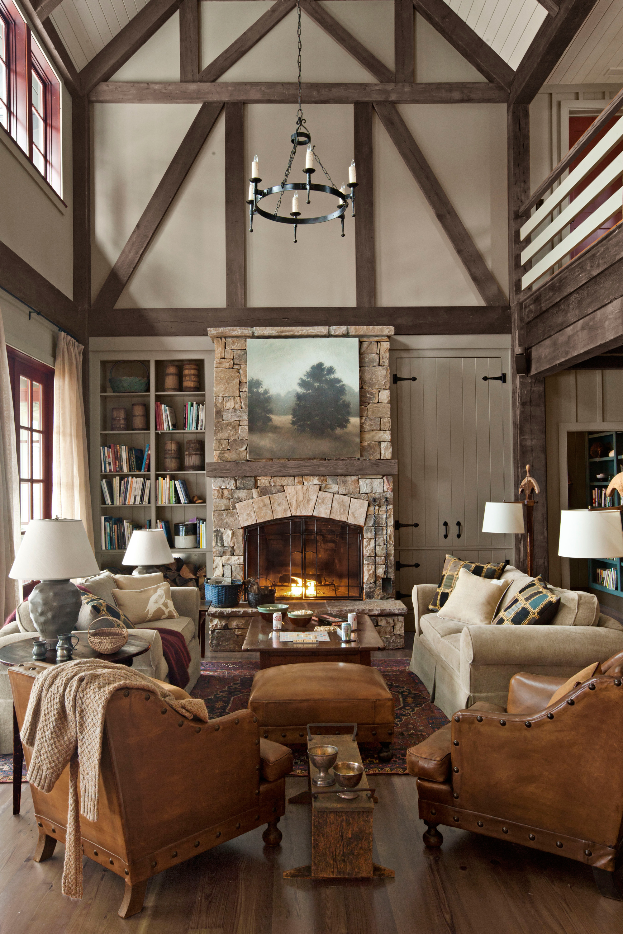 30 cozy living rooms youll want to hibernate in all winter long ...