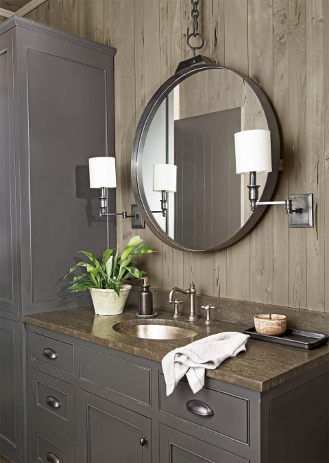 Forced Bathroom Remodel In: Every Detail In This Gorgeous Home Was Inspired By The