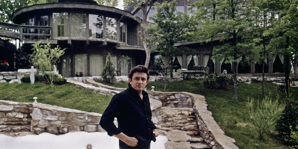 Pictures of johnny cash house
