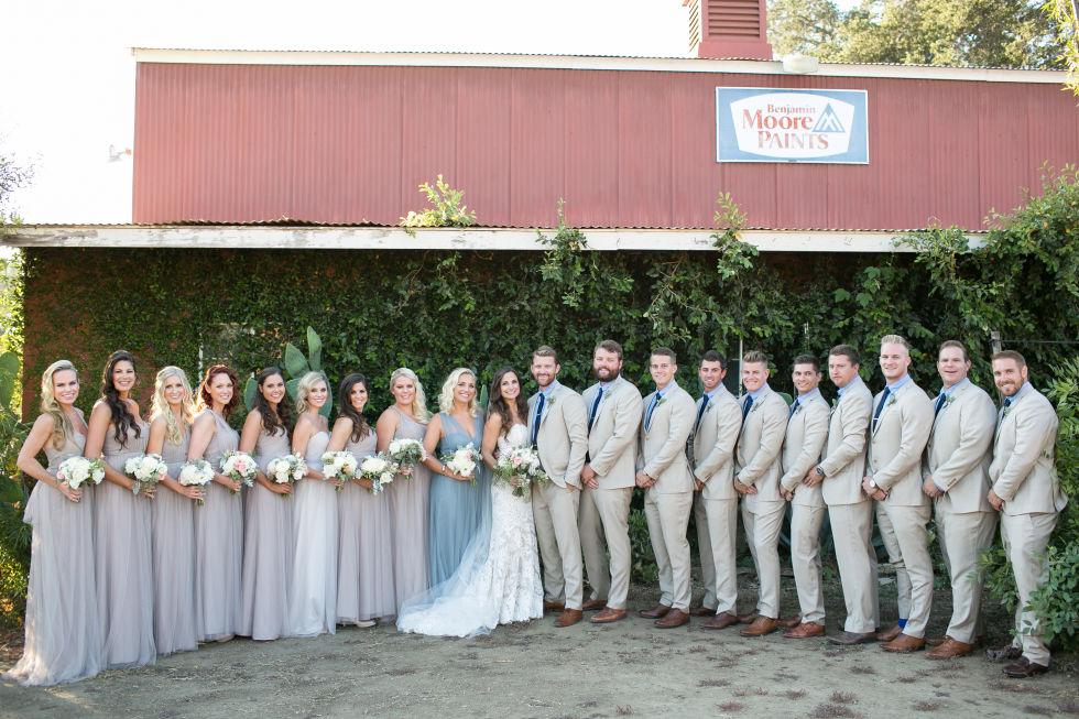 Southern redneck wedding