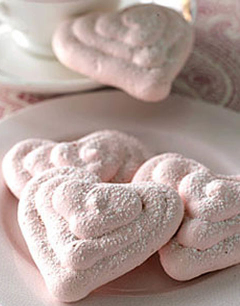 Don't feel so intimidated by these meringue hearts because they're actually easy and simple to make. Get the recipe.
