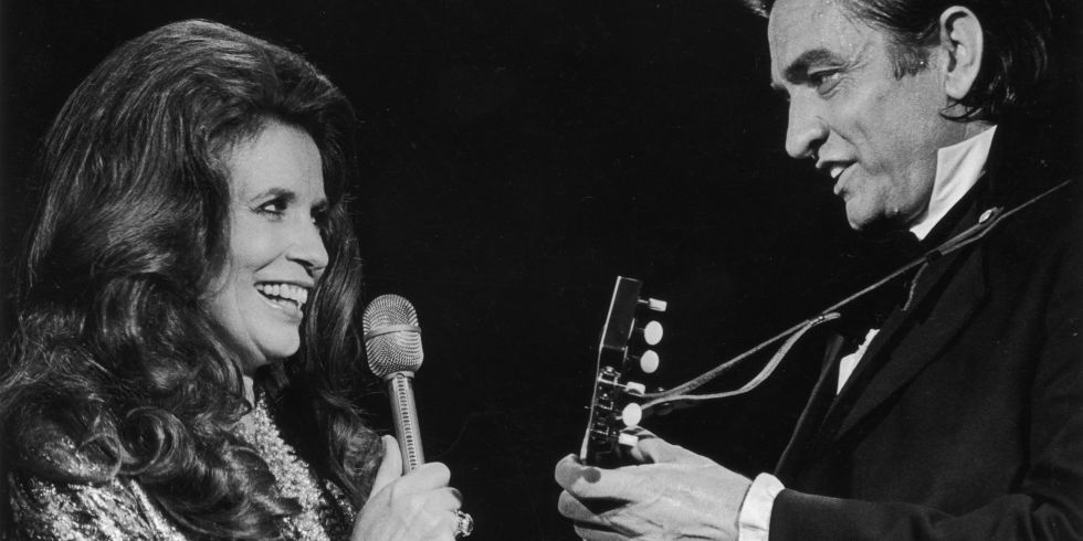 Johnny Cash And June Carter Performing Together