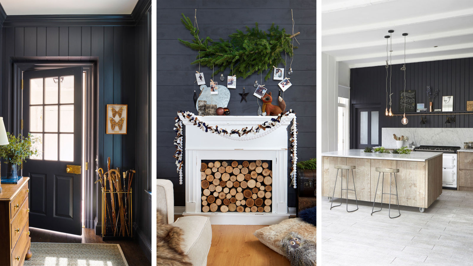 15 black shiplap ideas - how to style the black shiplap trend