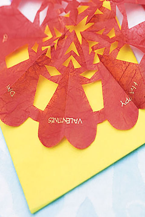 25 DIY Valentines Day Cards Homemade Valentines Counrty Living – Construction Paper Valentine Cards