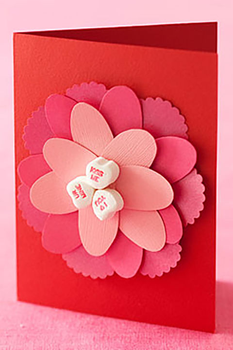 25 Diy Valentine'S Day Cards - Homemade Valentines - Counrty Living